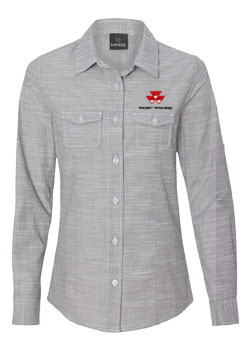 Massey Ferguson Women's Textured Shirt Thumbnail