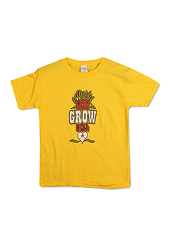 Massey Ferguson Youth You Grow Girl T-Shirt Thumbnail