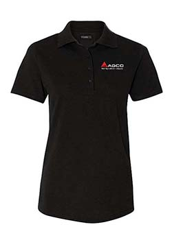 AGCO Women's Silk Touch Polo Thumbnail