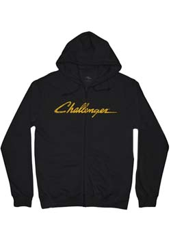 Challenger Zipper Hooded T-Shirt Thumbnail