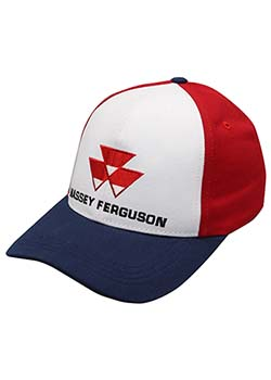 Massey Ferguson Red, White, & Blue Hat Thumbnail