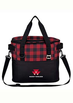 Massey Ferguson Plaid Cooler Bag Thumbnail