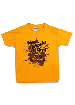 Challenger Youth Not Afraid of Dirt Tee Thumbnail