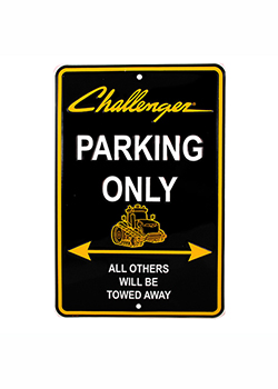 Challenger Parking Sign Thumbnail