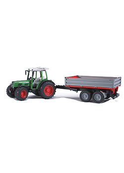 1:16 Scale Fendt 209 S with Trailer Thumbnail