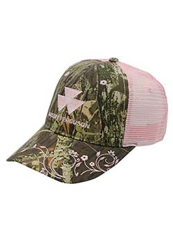MF Ladies Camo/Pink Mesh Back Hat Thumbnail