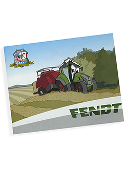 Fendt Tractor Coloring Book