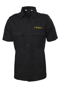 Challenger Collared Short-Sleeve Button-Down Shirt Thumbnail