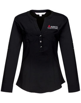 AGCO Ladies Adjustable Sleeves Shirt Thumbnail