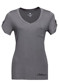 Challenger Women's Short-Sleeve V-Neck T-Shirt Thumbnail