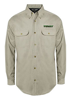 Fendt Long-Sleeve Fleece Shirt Jacket Thumbnail