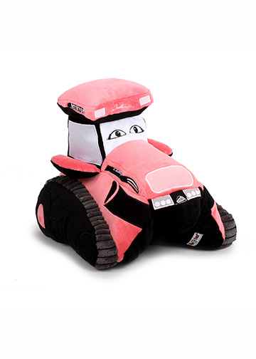 Challenger MT875E Tractor Pink Pillow Pet Image